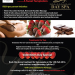 WIN BIG- Valentine's Package for 2 at the Pyramid Day Spa worth R1100!