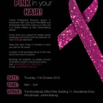 Show you care and wear pink in your hair!