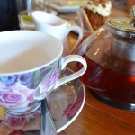 Delicious tea and cake at Contessa Tea Connoisseur