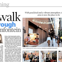 Sunday Independent: A walk through Braamfontein