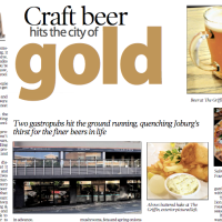 Sunday Independent: Craft Beer hits the city of Gold