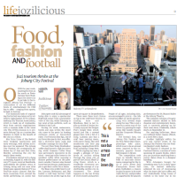 Sunday Independent: Food, Fashion, and Football