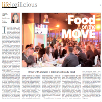 Sunday Independent: Food on the move