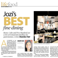 Sunday Independent: Best Fine Dining Restaurants in Jozi