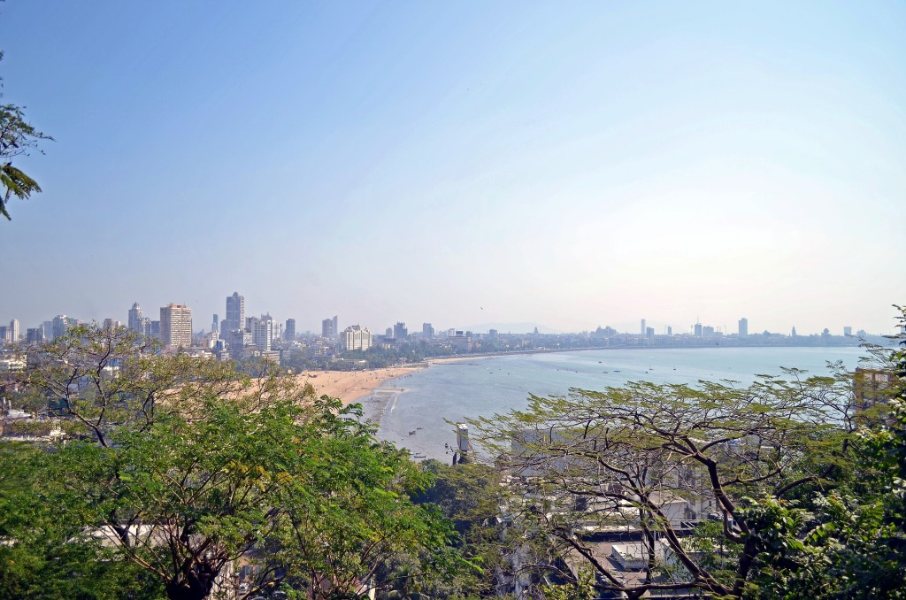The Mumbai skyline