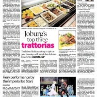 Sunday Independent: Joburg's top three trattorias