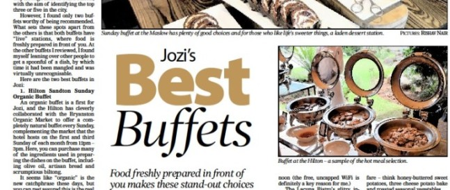 Jozi's Best Buffets
