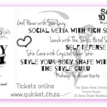 "Win! 2 tickets to ""With My Girls""- the perfect Mother's Day Treat, worth R760!"