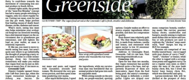 Go Green in Greenside