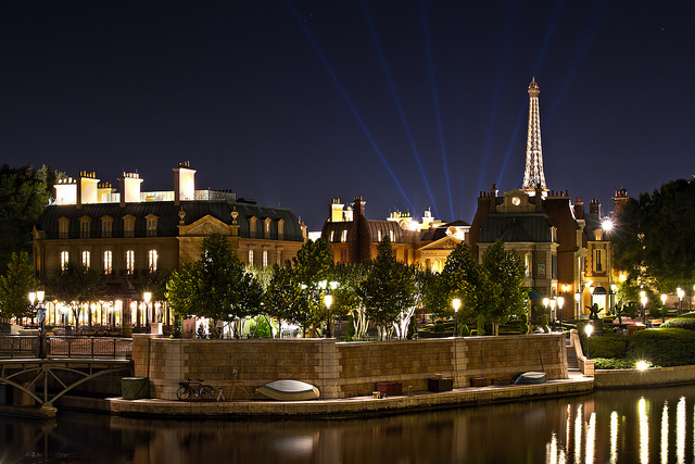 """France"" at night"