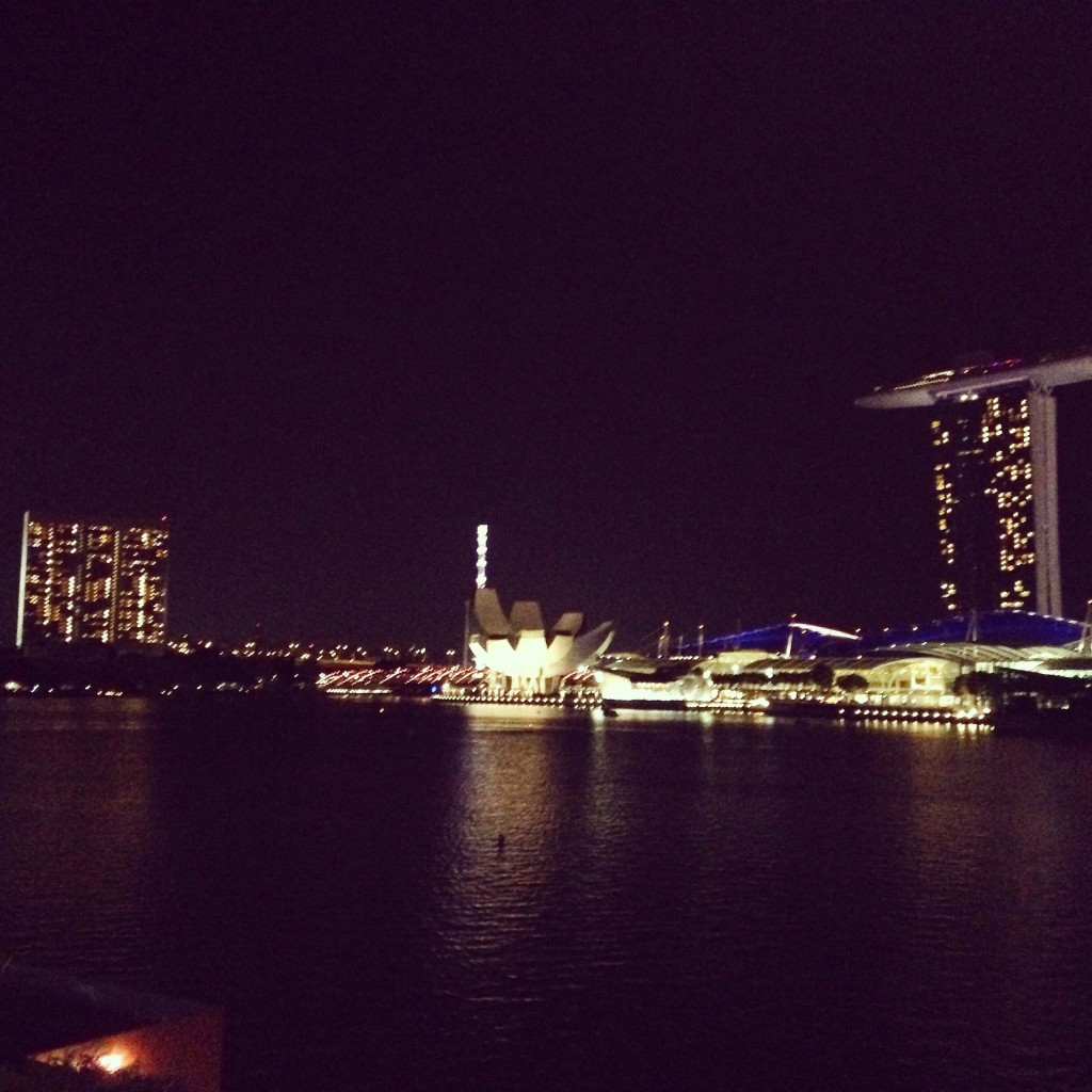 View of the harbour from Kinki Rooftop Bar