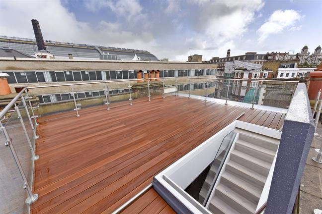 It was definitely the roof terrace that sold it for us!