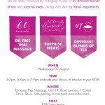 You're Invited to a Jozilicious Pamper Event