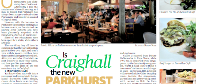 Is Craighall the new Parkhurst