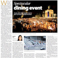 Spectacular dining event